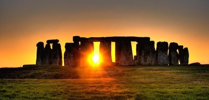Stonehenge - İngiltere